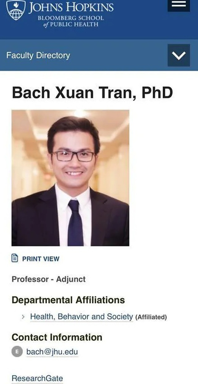 Người Việt trẻ được bổ nhiệm chức danh Giáo sư của Đại học danh tiếng Mỹ - 1