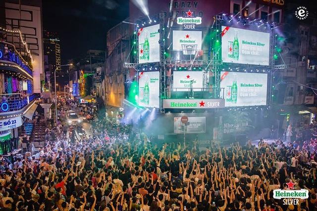 Khuấy động giới trẻ từ Bùi Viện đến Tạ Hiện, Heineken Silver khẳng định độ hot trong giới trẻ - 1