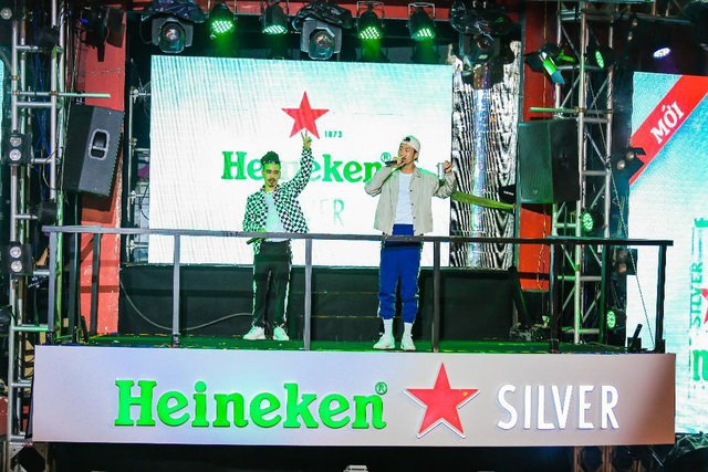Khuấy động giới trẻ từ Bùi Viện đến Tạ Hiện, Heineken Silver khẳng định độ hot trong giới trẻ - 3