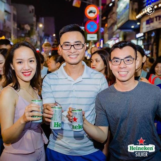 Khuấy động giới trẻ từ Bùi Viện đến Tạ Hiện, Heineken Silver khẳng định độ hot trong giới trẻ - 10