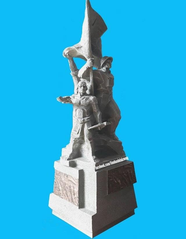 Biểu trưng 3,6 tỷ dính nghi án sao chép được thay thế bằng tượng đài 11 tỷ - 6