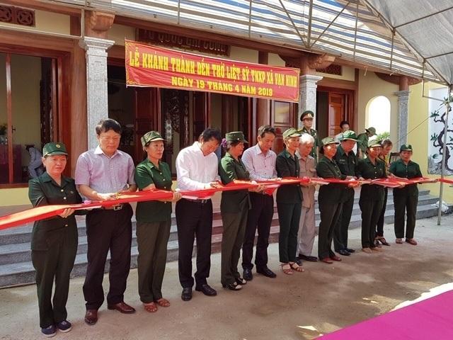 Khánh thành Đền thờ Liệt sỹ thanh niên xung phong mở đường Trường Sơn - 1