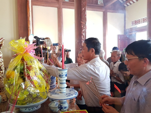 Khánh thành Đền thờ Liệt sỹ thanh niên xung phong mở đường Trường Sơn - 2