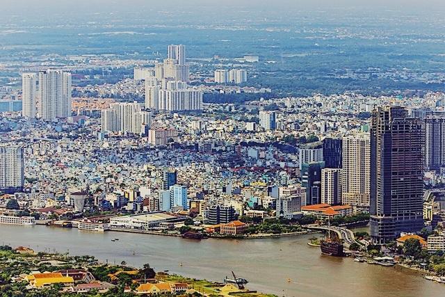 """Hé lộ hình ảnh """"độc nhất vô nhị"""" đầu tiên từ đài quan sát cao nhất Đông Nam Á giữa Sài Gòn - 3"""