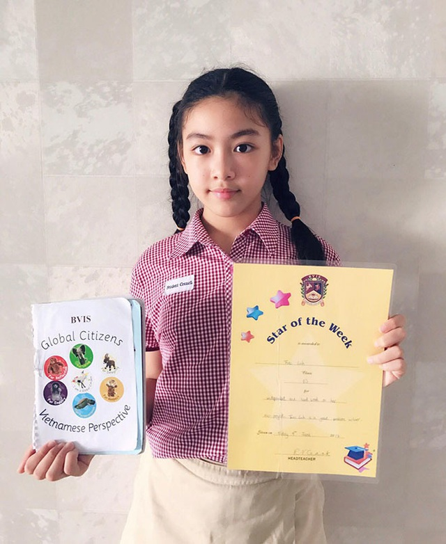 Con gái Quyền Linh ra dáng thiếu nữ xinh đẹp dịu dàng như Hoa hậu tương lai - 17
