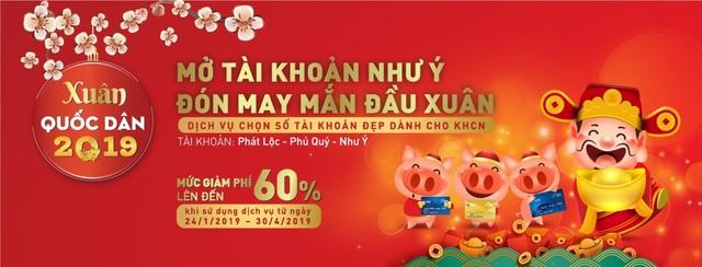 """Ngân hàng Quốc Dân tung """"mưa quà tặng"""" cho khách hàng đầu năm - 2"""
