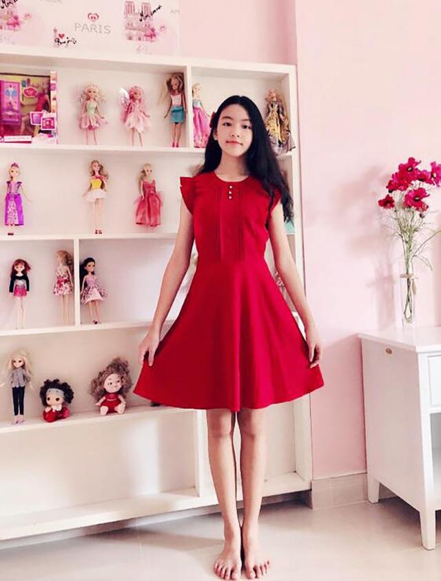 Con gái Quyền Linh ra dáng thiếu nữ xinh đẹp dịu dàng như Hoa hậu tương lai - 8