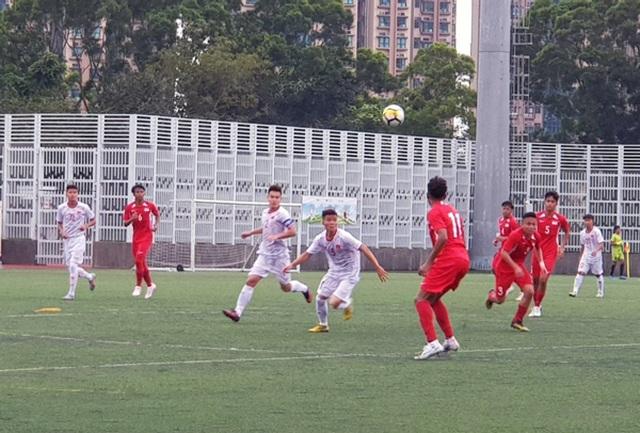 U18 Việt Nam thắng U18 Singapore trận ra quân giải U18 quốc tế - 2