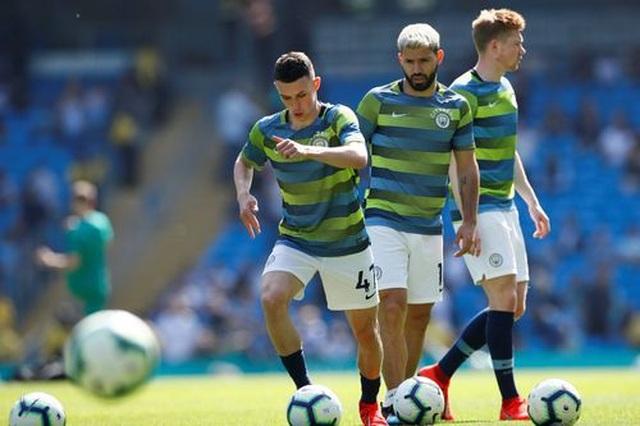 Man City 1-0 Tottenham: Bàn thắng ra mắt của tài năng trẻ Foden - 12