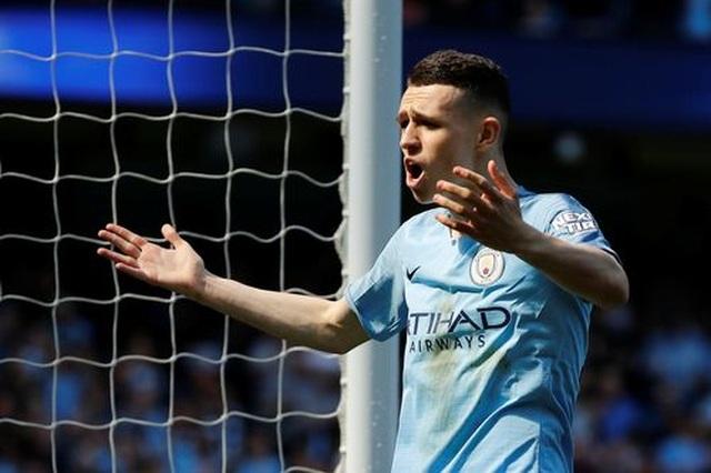 Man City 1-0 Tottenham: Bàn thắng ra mắt của tài năng trẻ Foden - 1