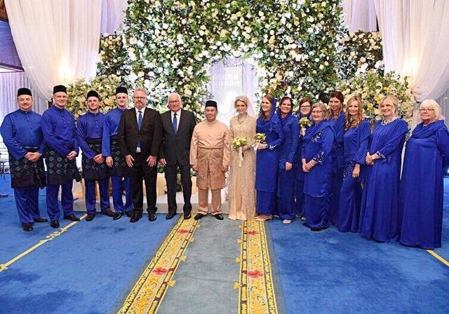 Thái tử Malaysia kết hôn với nữ thường dân người Thụy Điển - 4