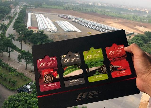 Vé xem đua xe F1 tại Hà Nội khởi điểm từ 1.750.000 đồng - 1