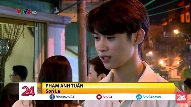 7 giây lên sóng truyền hình bình luận về ẩm thực, nam sinh Sơn La bất ngờ nổi tiếng - 1