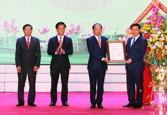 Thành phố Hà Tĩnh chính thức được công nhận là đô thị loại II - 2