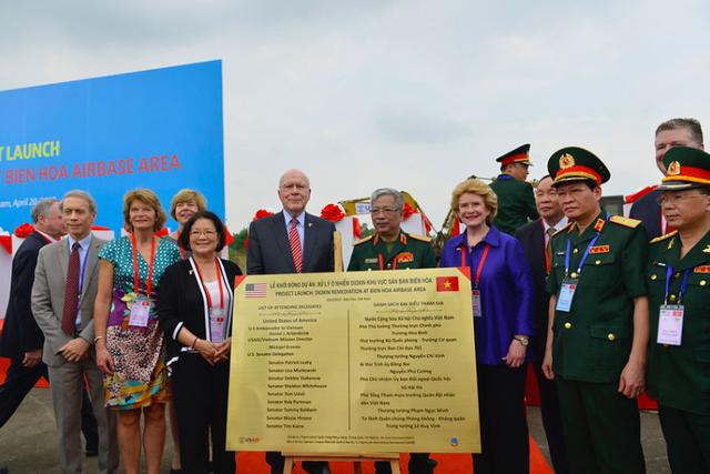"""Hoa Kỳ xử lý dioxin tại """"điểm nóng"""" ô nhiễm lớn nhất Việt Nam - 2"""