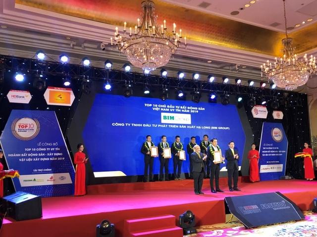 BIM Land  - BIM Group liên tiếp nhận nhiều giải thưởng uy tín - 2