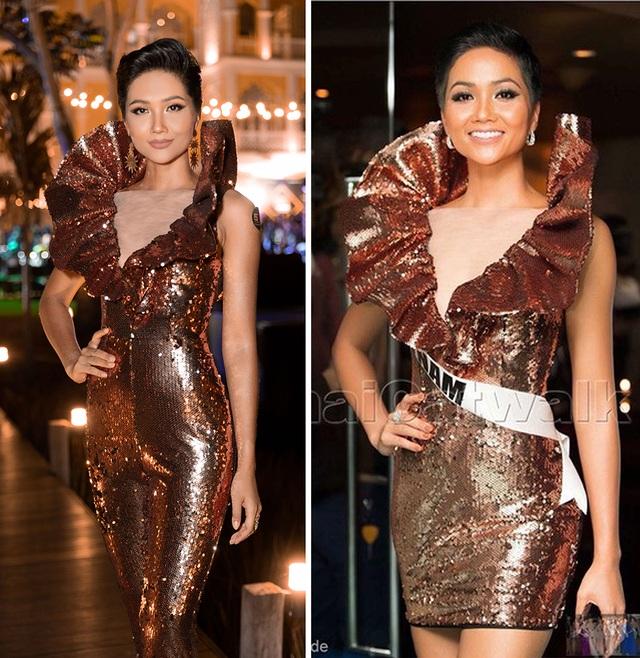 Hhen Niê biến tấu chiếc váy cũ từng gây tranh cãi tại Miss Universe - 2