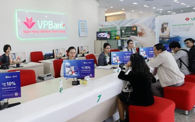 VPBank đạt hơn 7.900 tỷ đồng doanh thu trong quý I/2019 - 2