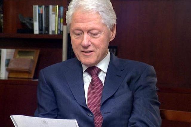 Nữ nhà báo Anh tiết lộ sốc về Bill Clinton - 1