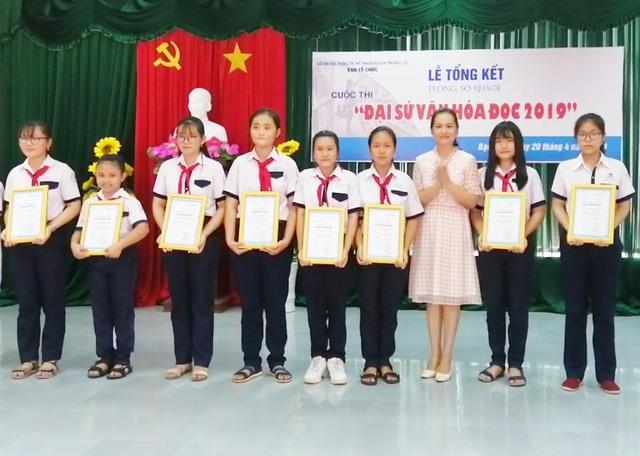 """Mỗi em học sinh đạt giải sẽ là """"Đại sứ văn hóa đọc"""" để truyền lửa đam mê đọc sách - 2"""