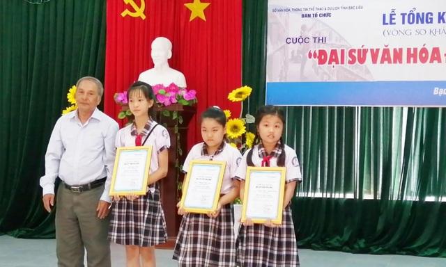 """Mỗi em học sinh đạt giải sẽ là """"Đại sứ văn hóa đọc"""" để truyền lửa đam mê đọc sách - 1"""