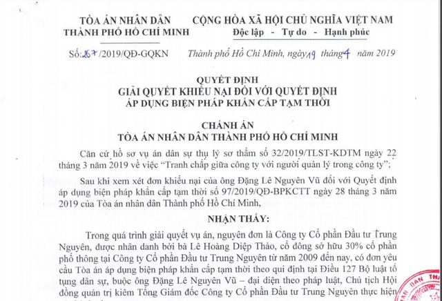 Hủy bỏ hàng loạt lệnh cấm đối với ông Đặng Lê Nguyên Vũ - 3