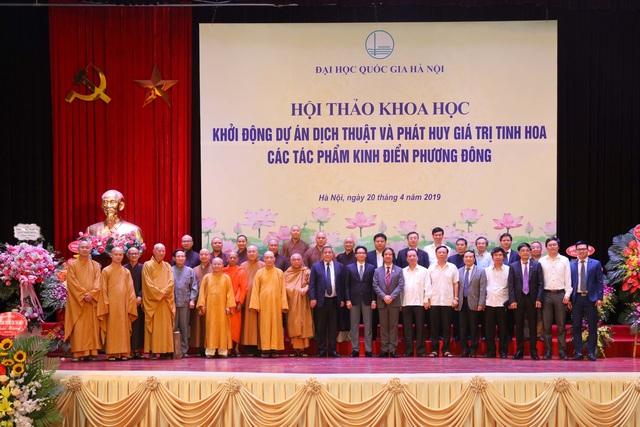 ĐH Quốc gia Hà Nội khởi động dự án Kinh điển Phương Đông - 1