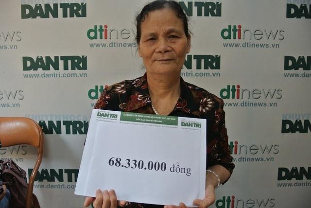 Hơn 68 triệu đồng tiếp tục đến với cậu bé Dương bị ung thư vòm họng - 2