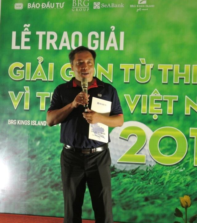 Giải golf từ thiện vì trẻ em trao tặng 500 triệu đồng cho Quỹ Khuyến học Việt Nam - 1