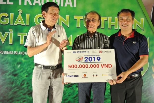 Giải golf từ thiện vì trẻ em trao tặng 500 triệu đồng cho Quỹ Khuyến học Việt Nam - 4