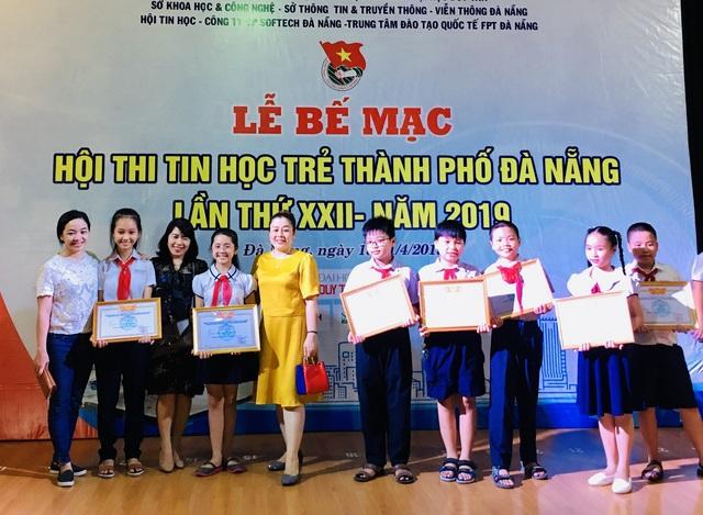 Đà Nẵng trao giải Hội thi Tin học trẻ thành phố - 1