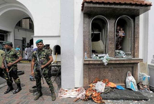 Nhóm khủng bố đầu tiên nhận trách nhiệm vụ tấn công đẫm máu ở Sri Lanka - 1