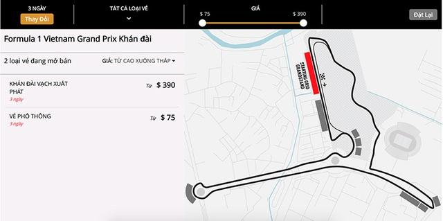 Vé xem F1 giá rẻ tại Hà Nội sẽ chỉ có giới hạn - 2