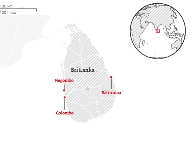 8 vụ đánh bom liên tiếp nhằm vào nhà thờ, khách sạn Sri Lanka, 207 người chết - 21