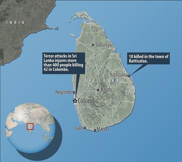 Hiện trường thảm kịch đánh bom khiến 160 người chết tại Sri Lanka - 17