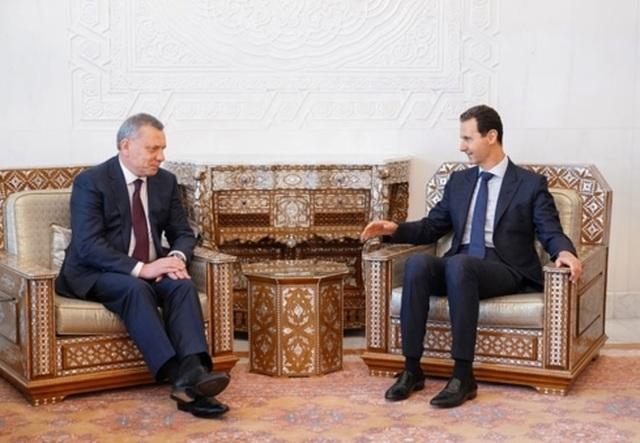 Nga và Syria bàn về tái thiết - 1