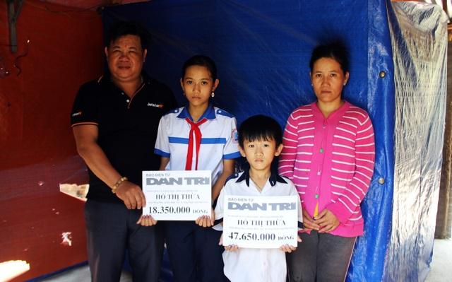 Phú Yên: Trao 66 triệu đồng cho 3 mẹ con chị Hồ Thị Thừa - 2