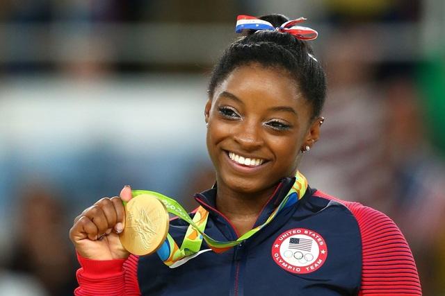 Simone Biles đạt huy chương vàng Olympic