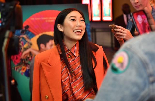 Nữ diễn viên Awkwafina trong phim Crazy Rich Asians