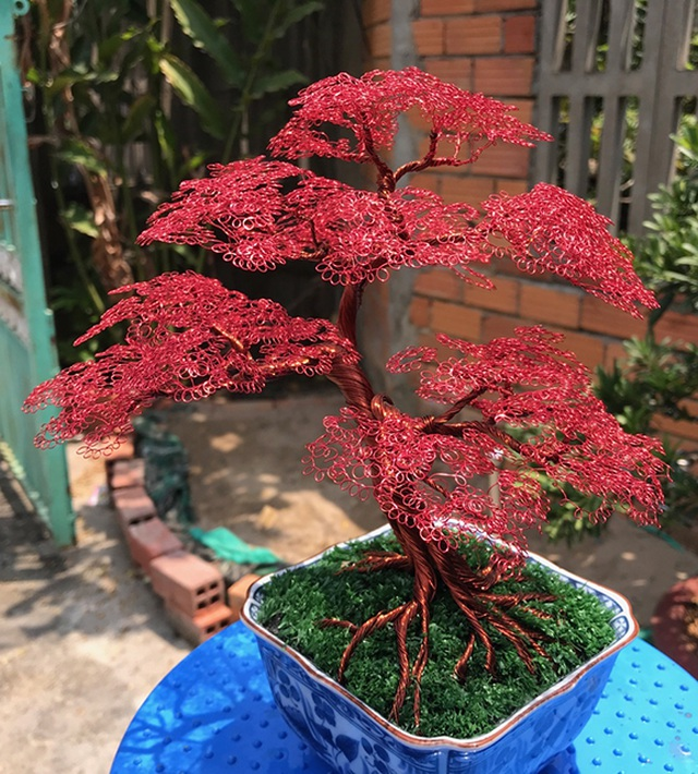 Khởi nghiệp với bonsai dây kim loại - 4