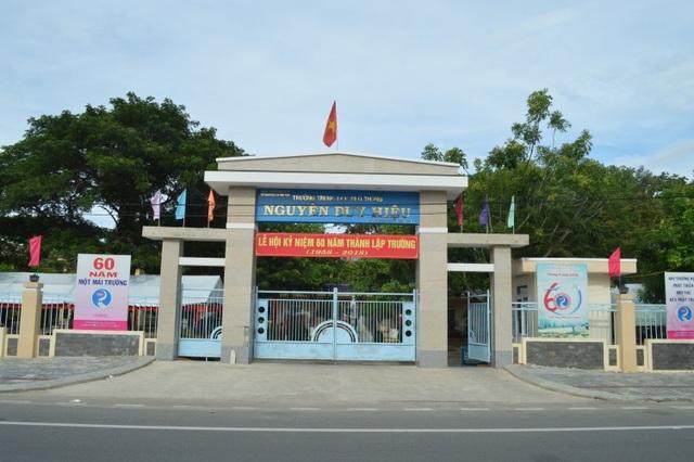 Trường THPT Nguyễn Duy Hiệu thị xã Điện Bàn