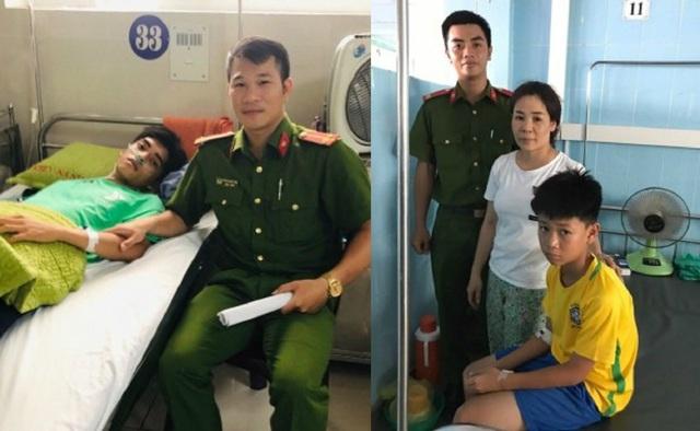 Quảng Bình: Chiến sỹ công an kịp thời cứu 2 học sinh đuối nước trên biển - 1