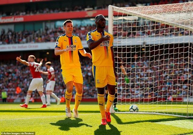 Nhìn lại trận derby thua đắng của Arsenal trước Crystal Palace - 6