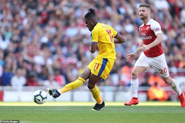 Nhìn lại trận derby thua đắng của Arsenal trước Crystal Palace - 13