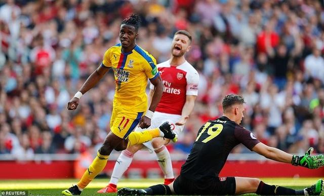 Nhìn lại trận derby thua đắng của Arsenal trước Crystal Palace - 14