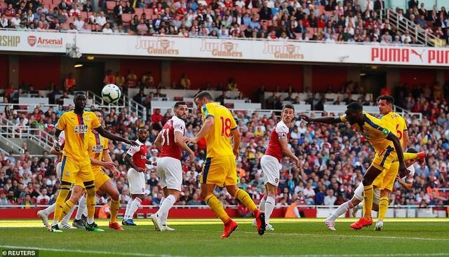 Nhìn lại trận derby thua đắng của Arsenal trước Crystal Palace - 16