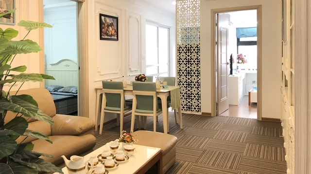 Chỉ từ 1 tỷ đồng sở hữu căn hộ 2 phòng ngủ trung tâm Long Biên - 2