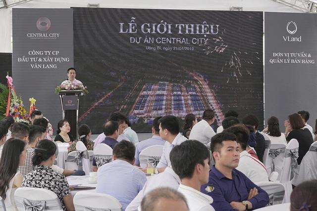 Bùng nổ giao dịch tại Lễ giới thiệu dự án Central City - 2