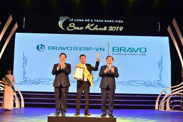 BRAVO 8 (ERP-VN) đạt danh hiệu Top 10 Sao Khuê 2019 - 1