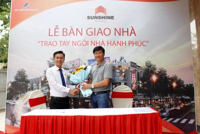 Đất Xanh Đông Nam Bộ tiếp tục bàn giao nhà phố Sunshine Residence theo đúng tiến độ cam kết - 1